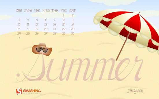 Wallpapers ημερολόγια Ιουλίου 2011 (1)