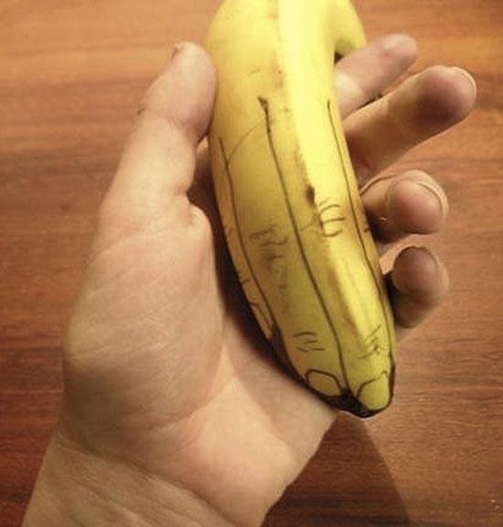 Εντυπωσιακή τέχνη με μπανάνες (22)
