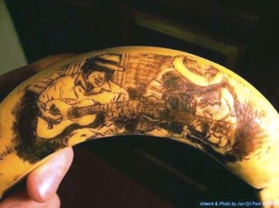 Εντυπωσιακή τέχνη με μπανάνες (20)
