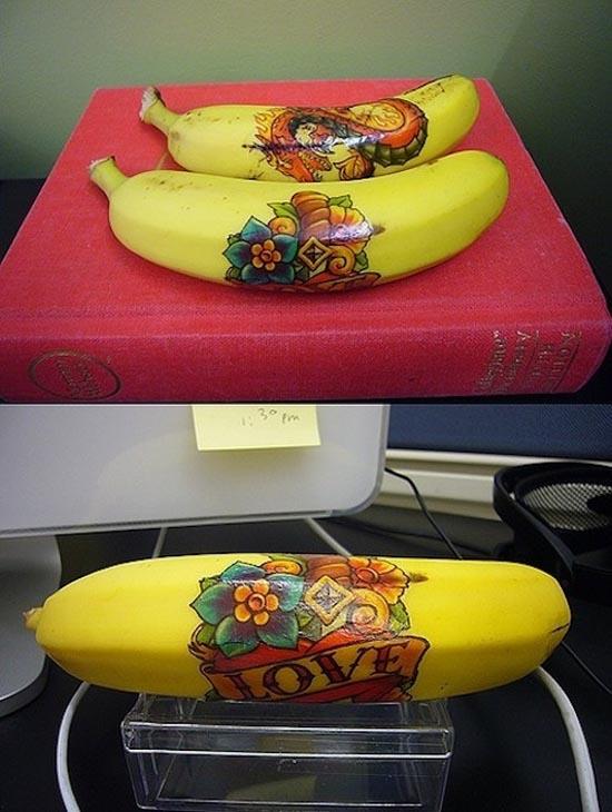Εντυπωσιακή τέχνη με μπανάνες (17)