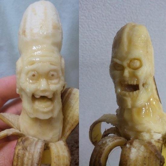 Εντυπωσιακή τέχνη με μπανάνες (11)