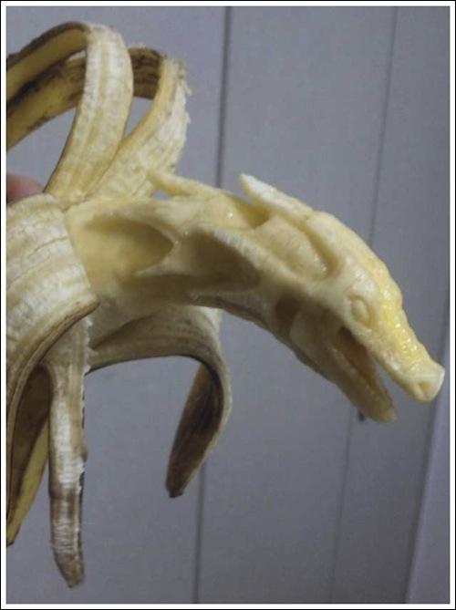 Εντυπωσιακή τέχνη με μπανάνες (10)