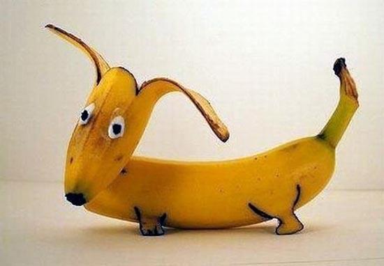 Εντυπωσιακή τέχνη με μπανάνες (8)