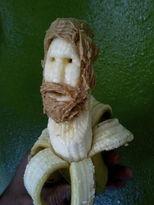 Εντυπωσιακή τέχνη με μπανάνες (7)