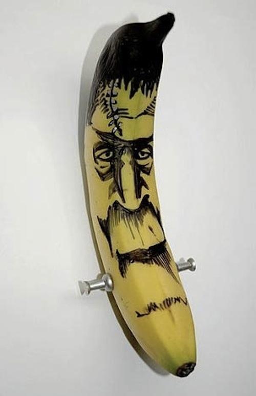 Εντυπωσιακή τέχνη με μπανάνες (5)