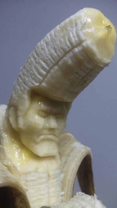 Εντυπωσιακή τέχνη με μπανάνες (4)