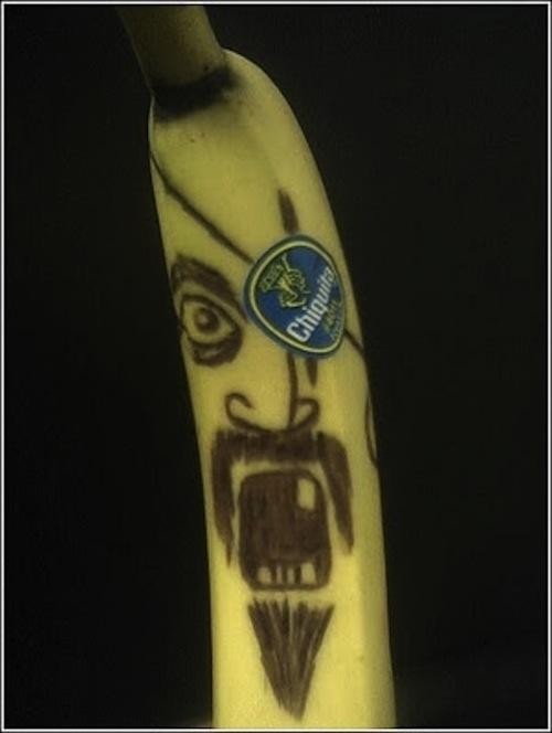 Εντυπωσιακή τέχνη με μπανάνες (3)