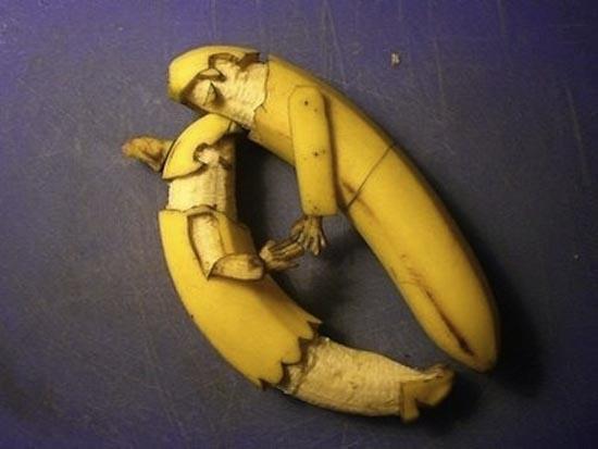 Εντυπωσιακή τέχνη με μπανάνες (2)