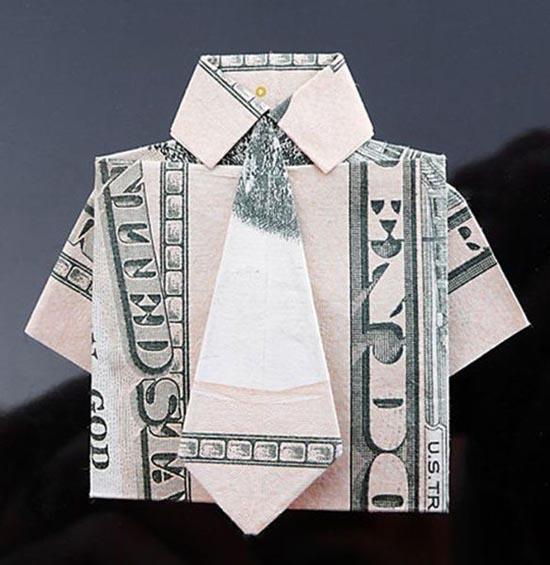 Υπέροχη τέχνη origami με χαρτονομίσματα (17)