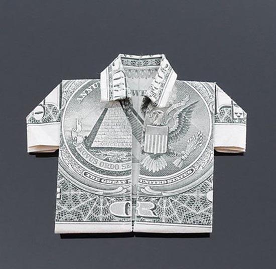Υπέροχη τέχνη origami με χαρτονομίσματα (18)