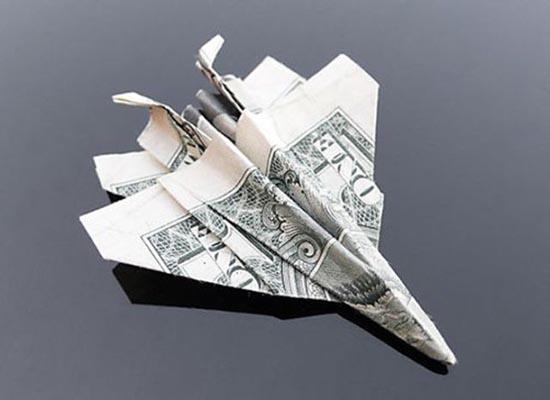 Υπέροχη τέχνη origami με χαρτονομίσματα (21)