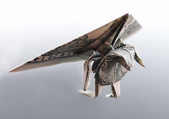 Υπέροχη τέχνη origami με χαρτονομίσματα (24)