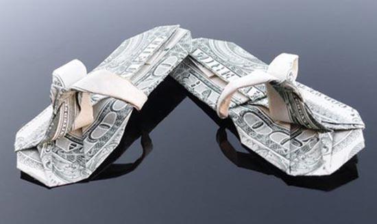 Υπέροχη τέχνη origami με χαρτονομίσματα (27)
