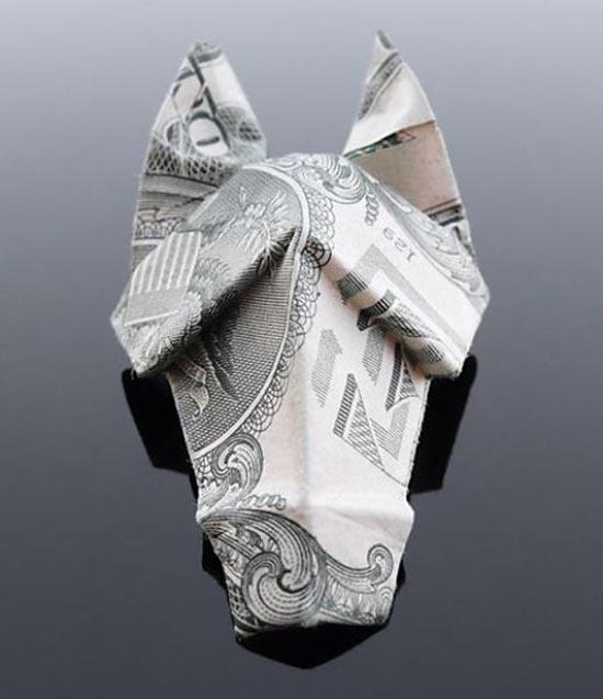 Υπέροχη τέχνη origami με χαρτονομίσματα (30)