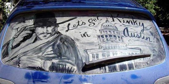 Απίστευτη τέχνη σε σκονισμένα τζάμια αυτοκινήτων (9)