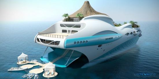 Τροπικό νησί και yacht 2 σε 1 (1)
