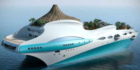 Τροπικό νησί και yacht 2 σε 1 (2)