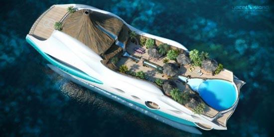 Τροπικό νησί και yacht 2 σε 1 (3)
