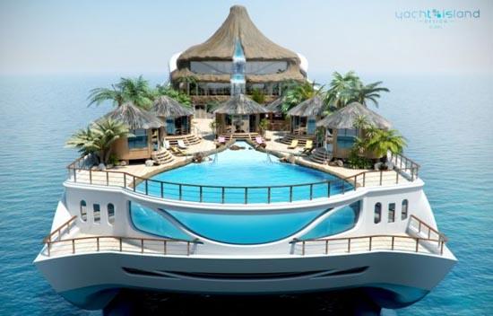 Τροπικό νησί και yacht 2 σε 1 (4)