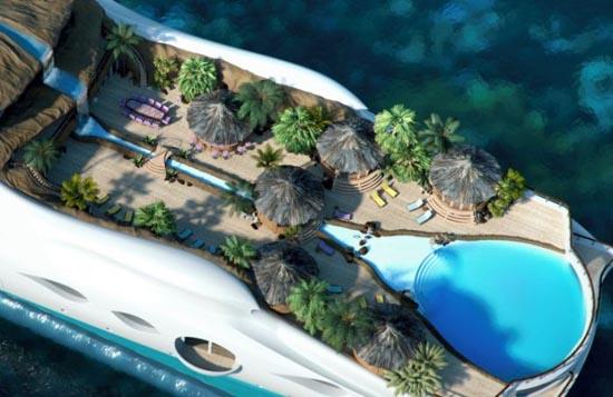 Τροπικό νησί και yacht 2 σε 1 (5)
