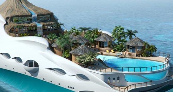 Τροπικό νησί και yacht 2 σε 1 (6)