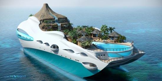 Τροπικό νησί και yacht 2 σε 1 (8)