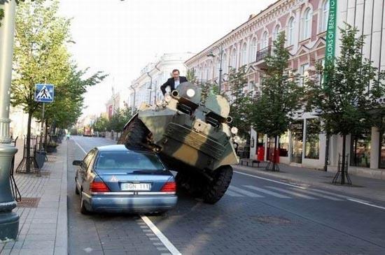 Δείτε πως αντιμετωπίζουν το παράνομο παρκάρισμα στην Λιθουανία (2)