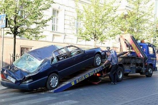 Δείτε πως αντιμετωπίζουν το παράνομο παρκάρισμα στην Λιθουανία (4)