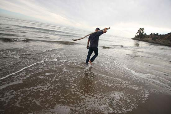 Εξωπραγματική τέχνη σε παραλίες από τον Jim Denevan (1)
