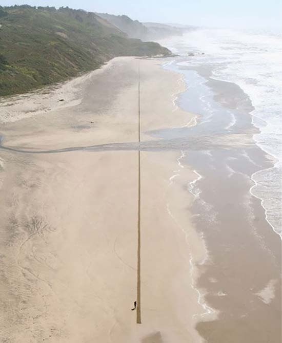 Εξωπραγματική τέχνη σε παραλίες από τον Jim Denevan (9)