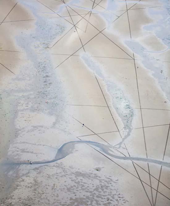Εξωπραγματική τέχνη σε παραλίες από τον Jim Denevan (29)