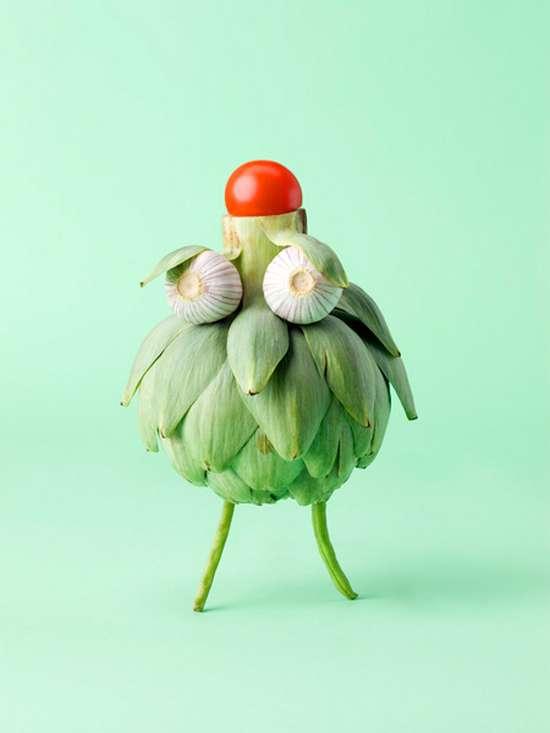 Εντυπωσιακά πρόσωπα από λαχανικά (10)