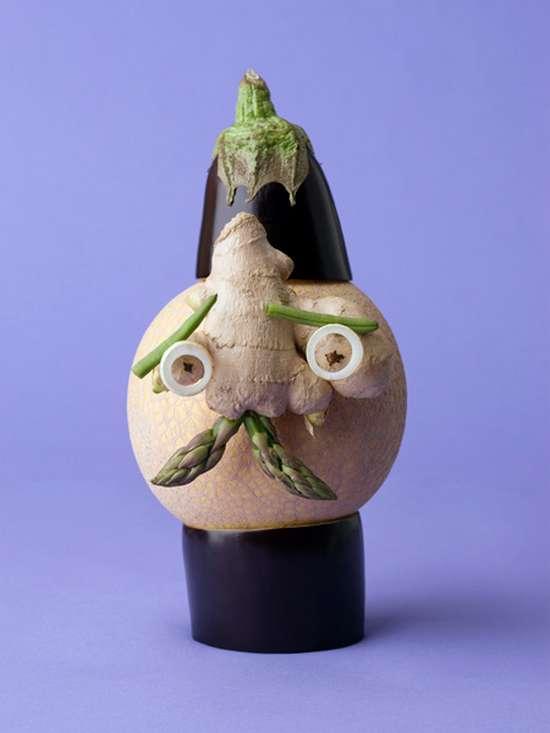 Εντυπωσιακά πρόσωπα από λαχανικά (3)