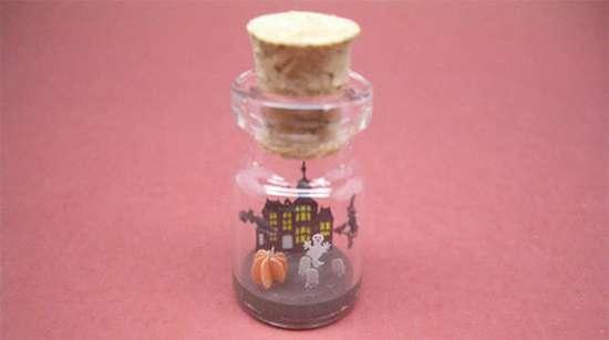 Γλυπτά μινιατούρες σε μικροσκοπικά μπουκάλια (8)