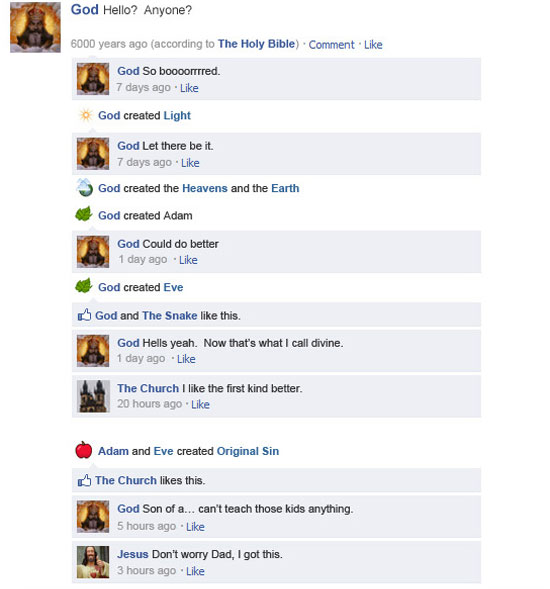 Αν τα ιστορικά γεγονότα είχαν status στο Facebook (1)