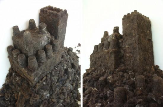 Κάστρο φτιαγμένο από ανθρώπινο μαλλί (3)