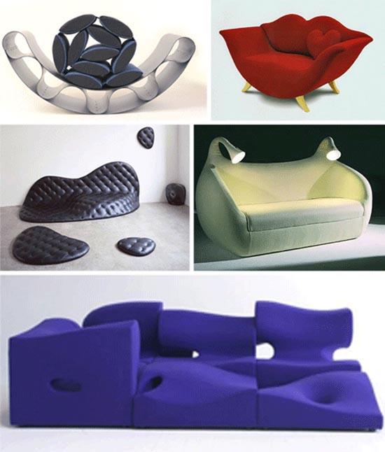 Παράξενοι καναπέδες και καθίσματα (5)