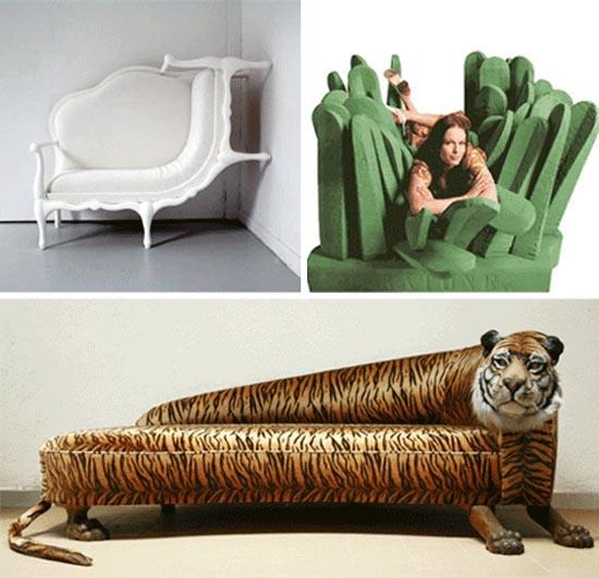 Παράξενοι καναπέδες και καθίσματα (4)