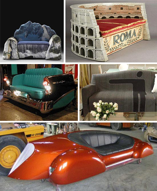 Παράξενοι καναπέδες και καθίσματα (2)