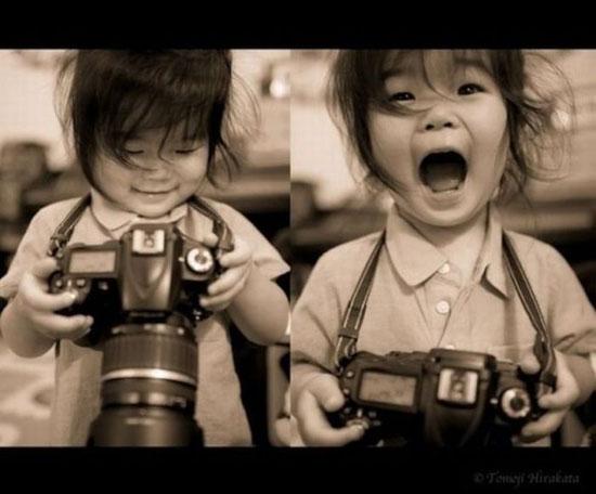 Φωτογραφία της ημέρας: Η... φωτογράφος