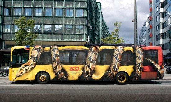 Φωτογραφία της ημέρας: Λεωφορείο φίδι