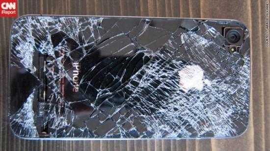 Φωτογραφία της ημέρας: Πτώση iPhone από τα 13,500 πόδια
