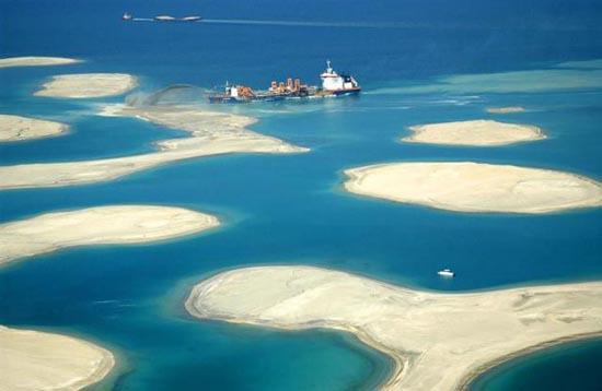 Πως κατασκευάζονται τα τεχνητά νησιά στο Dubai; (14)