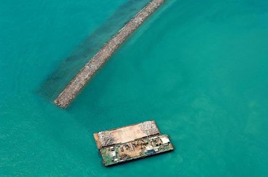 Πως κατασκευάζονται τα τεχνητά νησιά στο   Dubai; (10)