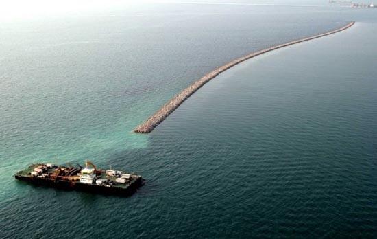Πως κατασκευάζονται τα τεχνητά νησιά στο Dubai; (8)