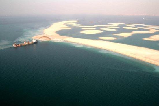 Πως κατασκευάζονται τα τεχνητά νησιά στο Dubai; (12)