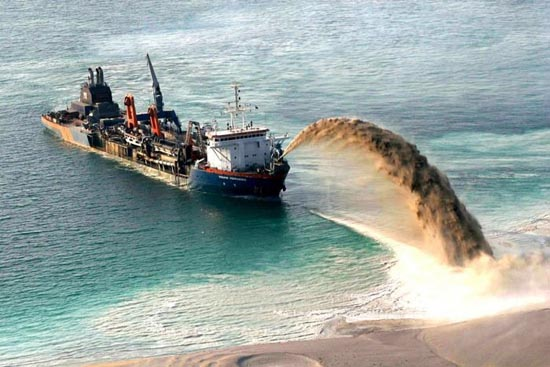 Πως κατασκευάζονται τα τεχνητά νησιά στο Dubai; (5)