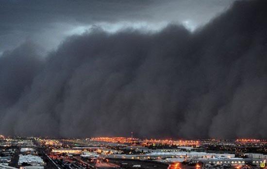 Αμμοθύελλες που προκαλούν δέος (6)