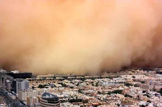 Αμμοθύελλες που προκαλούν δέος (7)