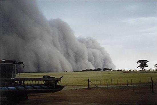 Αμμοθύελλες που προκαλούν δέος (10)
